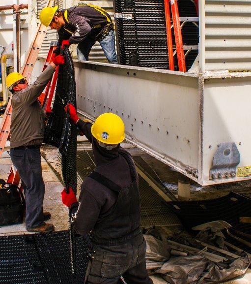 Men loading truck